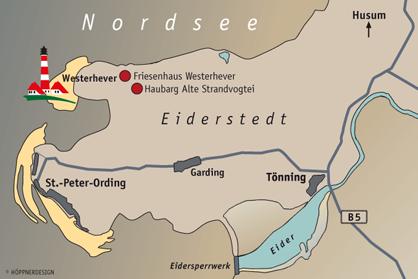 Eiderstedt Karte Seitz